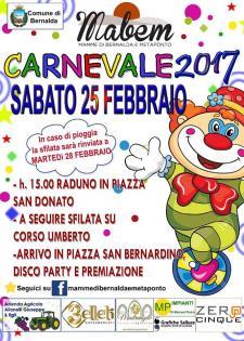 Carnevale 2017 a Bernalda  - Matera
