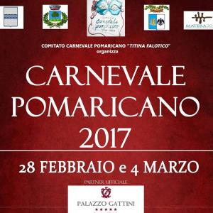 Carnevale Pomaricano 2017  - Matera
