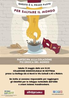 Colazione Equosolidale - 13 Maggio 2017 - Matera