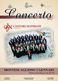 Concerto dei Cantori Materani - 3 gennaio 2017 - Matera