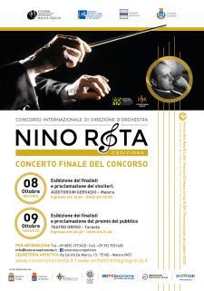 """Concorso Internazionale di Direzione d'Orchestra """"Nino Rota"""" - IIa Edizione - Matera"""