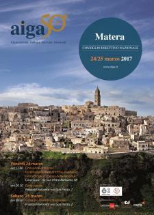 Consiglio Direttivo Nazionale dell'AIGA  - Matera