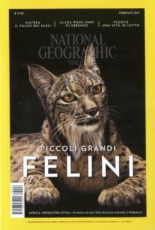 Copertina Febbraio 2017 National Geographic - Matera