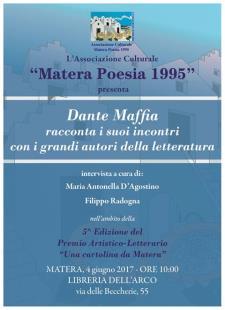 Dante Maffia racconta i suoi incontri con i grandi autori della letteratura  - 4 Giugno 2017 - Matera