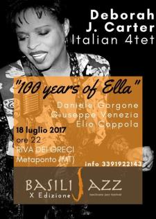 "Deborah J. Carter ""100 Years of Ella"" live  - Matera"