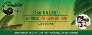 Diversamente Funk live music  - 9 Luglio 2017 - Matera