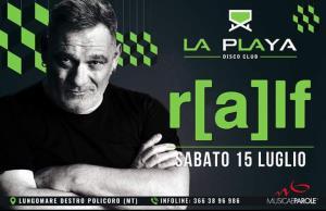 DJ RALF - 15 Luglio 2017 - Matera