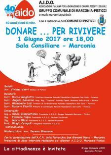 Donare... per rivivere - 1 Giugno 2017 - Matera