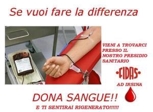 Donazione di Plasmaferesi o Sangue Intero  - Matera