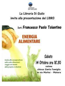 ENERGIA ALIMENTARE  - Matera