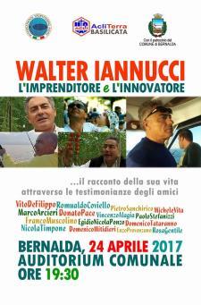 Evento in memoria Iannucci Walter - 24 Aprile 2017 - Matera