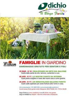 Famiglie in giardino - 25 Marzo 2017 - Matera