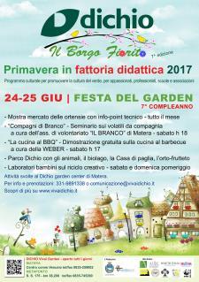 Festa del Garden Dichio - Matera