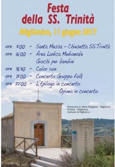 Festa della Trinità,la festa del quartiere - 11 Giugno 2017 - Matera