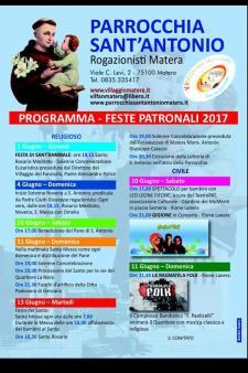 Festa di Sant'Antonio di Padova 2017  - Matera
