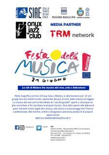 Festa Europea della Musica 2017  - Matera