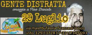 GENTE DISTRATTA omaggio a Pino Daniele  - Matera