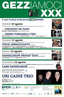 Gezziamoci 2017 - Il Jazz Festival di Basilicata  - Matera