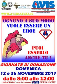 Giornata di donazione del sangue  - Matera