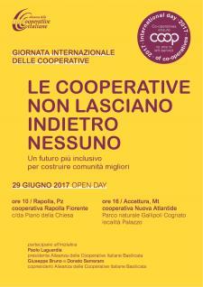 Giornata internazionale delle cooperative  - Matera