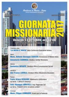 Giornata missionaria mondiale 2017  - Matera