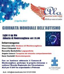 Giornata Mondiale dell'Autismo 2017 - 2 Aprile 2017 - Matera