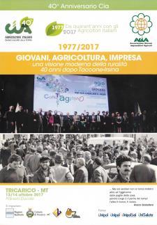 Giovani, Agricoltura, Impresa - 13 e 14 ottobre 2017 - Matera