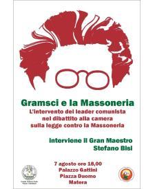 Gramsci e la Massoneria - 7 Agosto 2017 - Matera