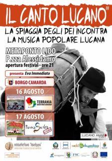 Il Canto Lucano  2017 - Matera