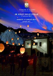 In volo sulle stelle... tra i calanchi di Aliano 2017  - Matera