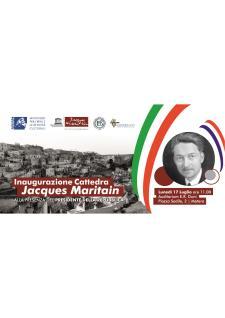 Inaugurazione Cattedra Jacques Maritain  - Matera