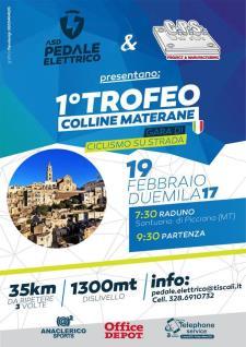 I° Trofeo Colline Materane  - 19 Febbraio 2017 - Matera