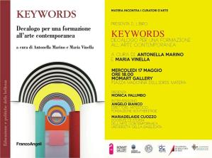 Keywords - Decalogo per una formazione all'arte contemporanea  - Matera