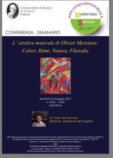 L'Estetica Musicale di Olivier Messiaen  - Matera