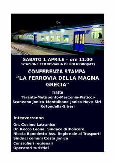 La ferrovia della Magna Grecia - 1 Aprile 2017 - Matera