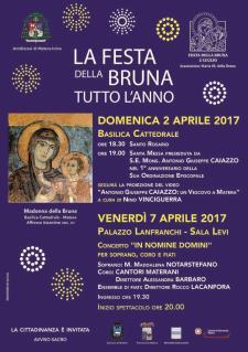 La Festa della Bruna tutto l'anno 2017 - sesto appuntamento  - Matera