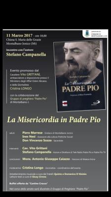 La misericordia in Padre Pio  - Matera