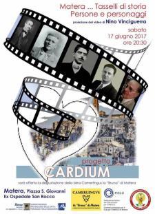 LA STORIA DI MATERA NEL BATTITO DI CARDIUM  - 17 Giugno 2017 - Matera