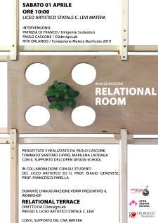 laboratorio di costruzione della Relational room  - Matera