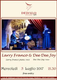 Larry Franco e Dee Dee Joy - 5 Luglio 2017 - Matera