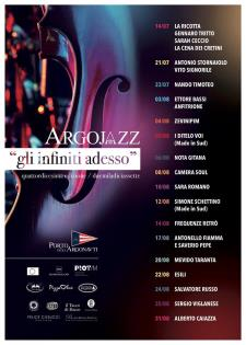 Locandina Argojazz 2017 - Matera