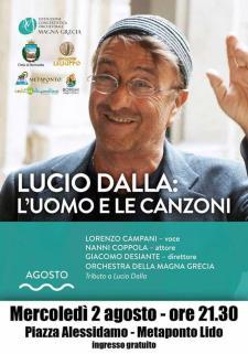 Lucio Dalla: l'uomo e le canzoni  - Matera