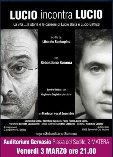 Lucio incontra Lucio - 3 Marzo 2017 - Matera