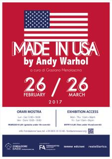 Made in Usa by Andy Warhol  - Matera