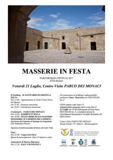 Masserie in Festa - 21 Luglio 2017 - Matera