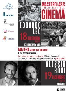 """Masterclass """"I mestieri del cinema""""  - Matera"""