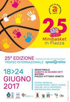 Minibasket in Piazza 2017  - Matera