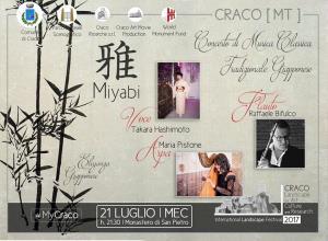 Miyabi - Concerto di Musica Classica tradizionale giapponese  - 21 Luglio 2017 - Matera
