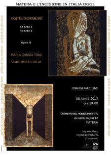 Mostra di Vladimiro Elvieri e Maria Grazia Toni  - Matera