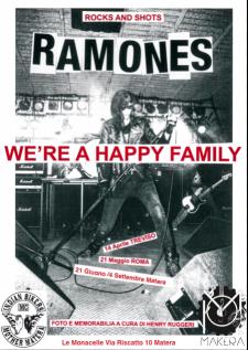 "Mostra fotografica sui ""Ramones"" di Henry Ruggeri  - Matera"